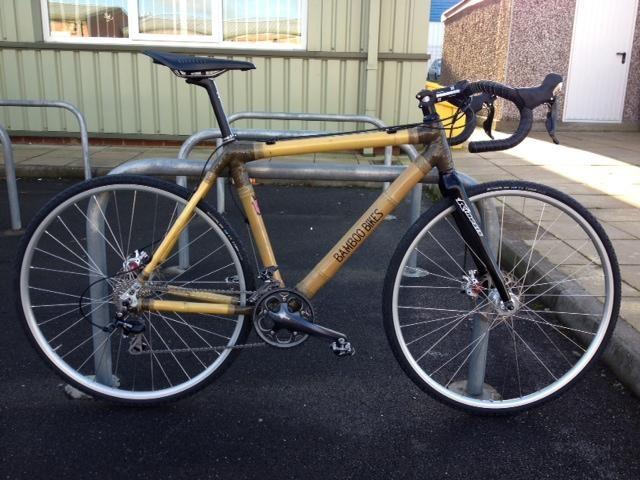 The Bamboo Bikes cyclocross bike