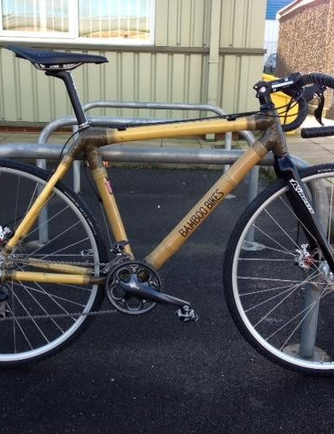 The Bamboo Bikes cyclocross bike