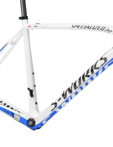 The Nibali S-Works Tarmac frameset