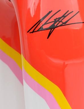 Expect to see an Alberto Contador signature model soon