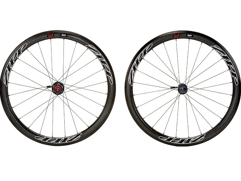 The new Zipp 303 Firecrest disc-brake wheels will be available in July