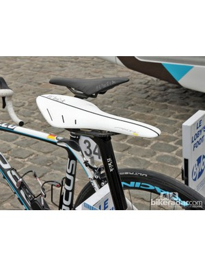 fi'zi:k's latest Arione 00 mounted atop this Ag2R-La Mondiale Focus Izalco at Scheldeprijs