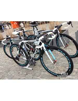 Steve Chainel (Ag2R-La Mondiale) opted for a Focus Mares CX for Scheldeprijs - no doubt as preparation for Paris-Roubaix on Sunday