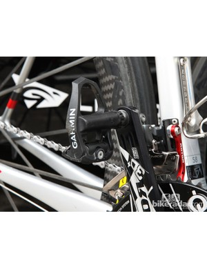 Once again, Garmin's pedals make an appearance - but still with no power meter hardware attached