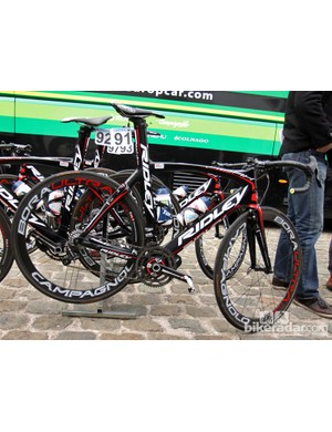 Lotto-Belisol's Kenny Dehaes used Ridley's sleek Noah FAST at Scheldeprijs