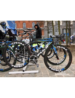 NetApp's Fuji Altamira takes the stage at Scheldeprijs