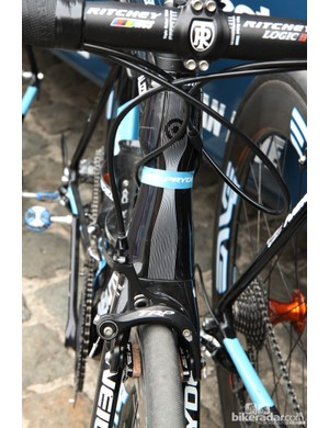 Hourglass-profile head tubes such as used on UnitedHealthcare's NeilPryde Alize frames are now quite common