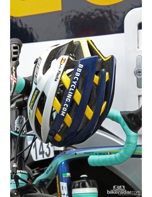 Vacansoleil-DCM riders are using BBB's new Icarus helmet