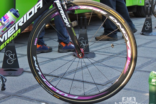Fulcrum Previews New Racing Speed Xlr 35 At Flanders Bikeradar