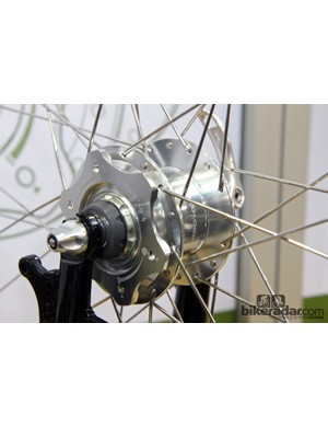 The BioLogic Joule HG's dynamo can be turned on or off for more efficient pedaling in daylight hours