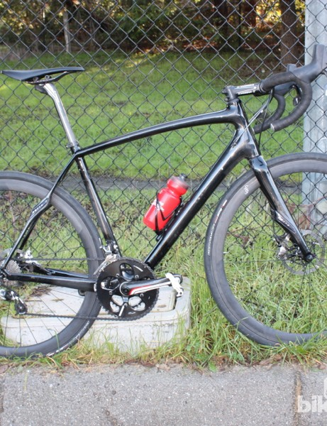 The Specialized Roubaix hydraulic disc prototype