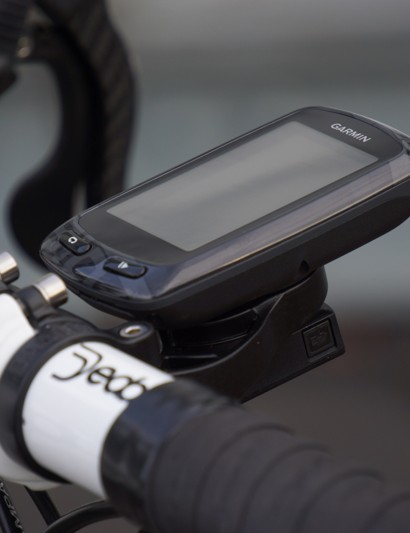 The Garmin Edge 810 on the Bar Fly 2.0