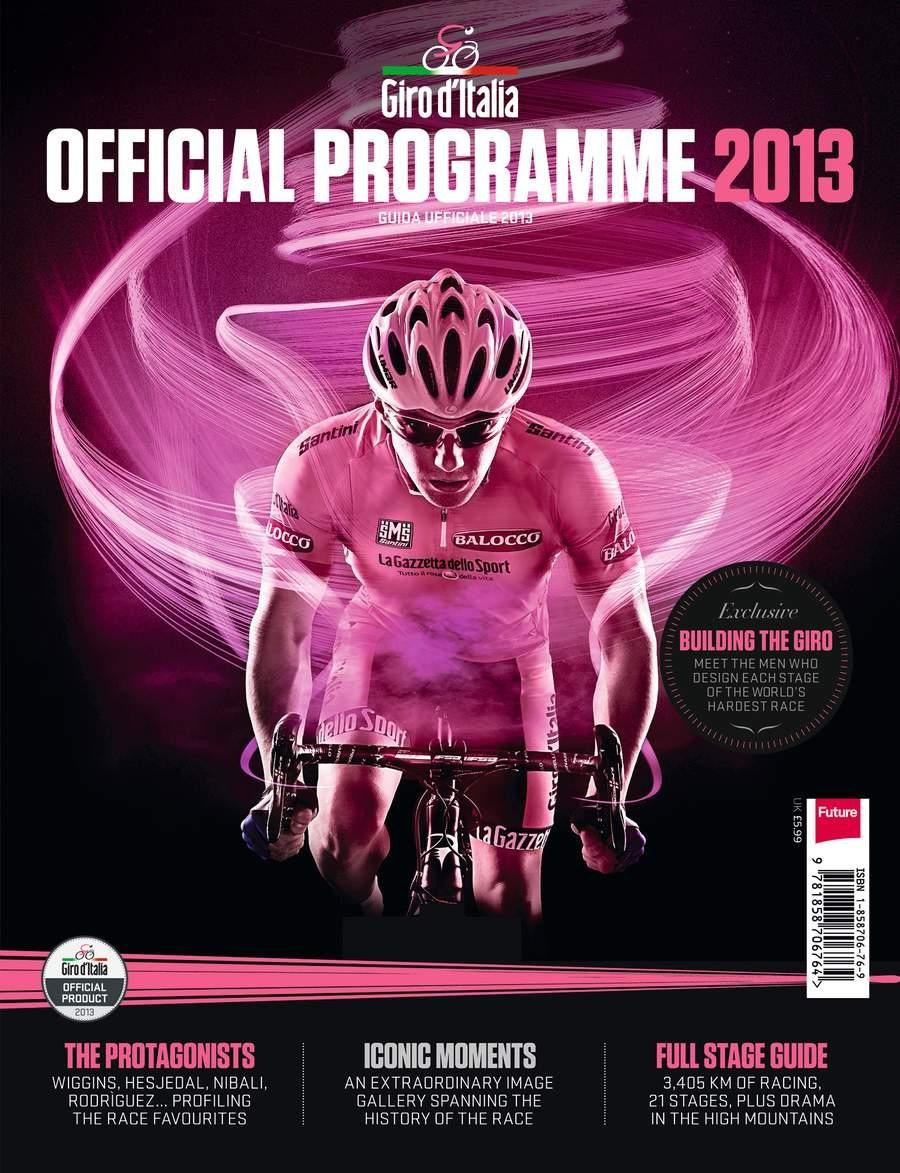 Official Giro d'Italia 2013 programme - on sale now