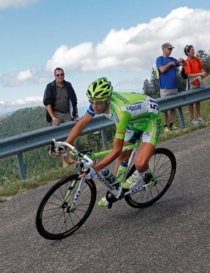 Vincenzo Nibali is renowned as a fast descender with nerveless handling