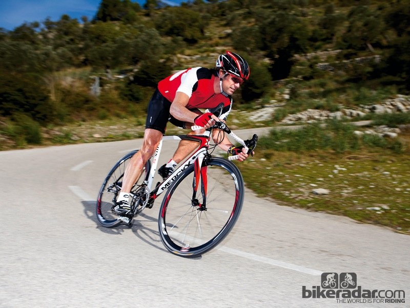 """Procycling bike tester Marcel Wüst described the Eddy Merckx EMX-5 as """"solid as a tank without the weight"""". What new gains could stability research uncover for the company?"""