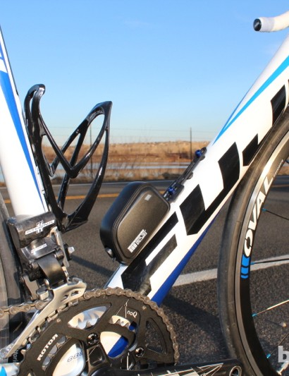 Campagnolo's EPS electronic system is now availalbe at the Athena level, three tiers down from the top Super Record
