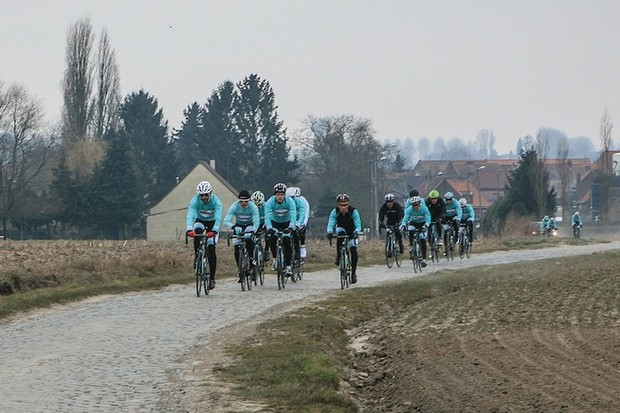 We tested the Bianchi Infinito CV on the cobbles of Paris-Roubaix