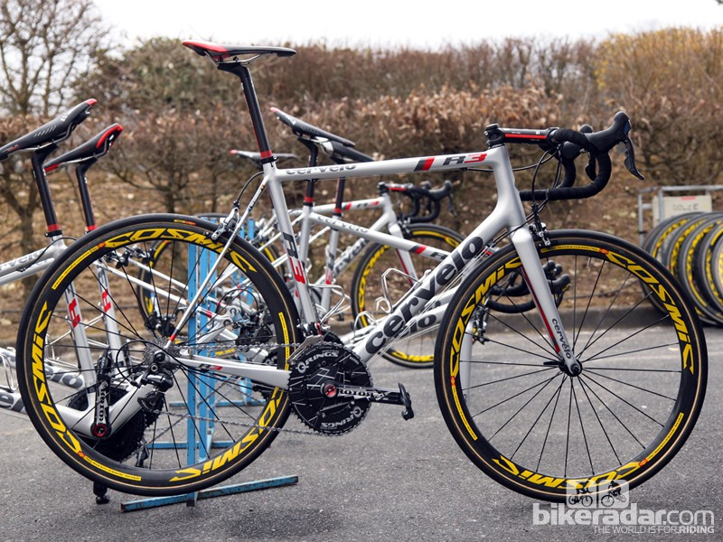 Johan Vansummeren (Garmin-Sharp) is hoping a second Paris-Roubaix victory will come aboard this Cervélo R3 Mud