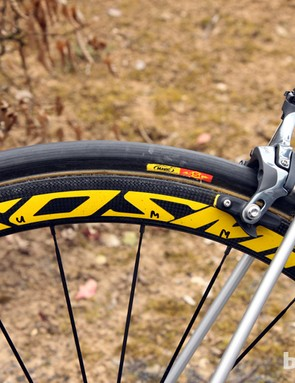 Garmin-Sharp will tackle Paris-Roubaix on Mavic's M40 carbon tubular wheels - which still haven't been released to the public despite having been raced for several seasons