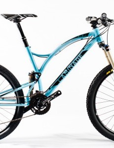 The new Caminade One4All full suspension MTB has 26in wheels