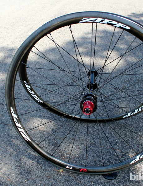 Our test set weighed 610g for the front and 740g for the rear without quick-releases or rim strips