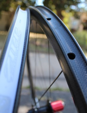 Heat management is everything with carbon clinchers. The Zipp 202s handle it remarkably well