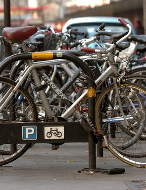 Parked bikes in London: British Cycling are lobbying for the rights of general cyclists