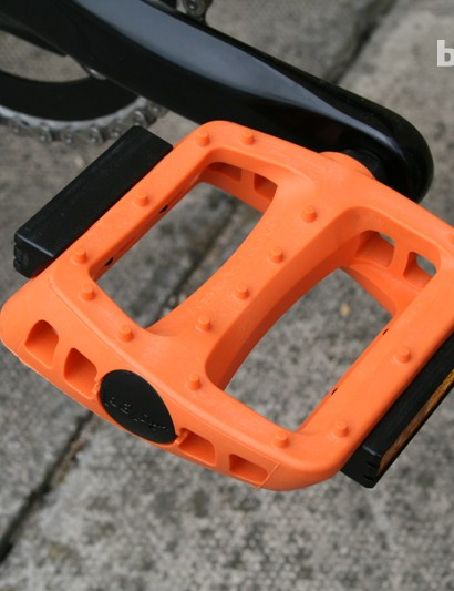 The Weekender gets Odyssey plastic BMX pedals