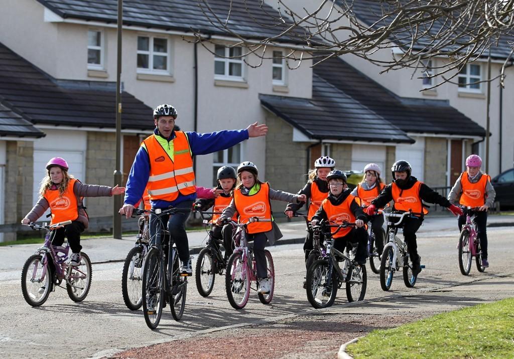 Graeme Obree helped launch Bikeability Scotland