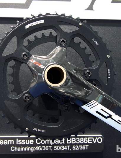 FSA's Team Issue road crankset gets BB386 EVO compatibility for 2014