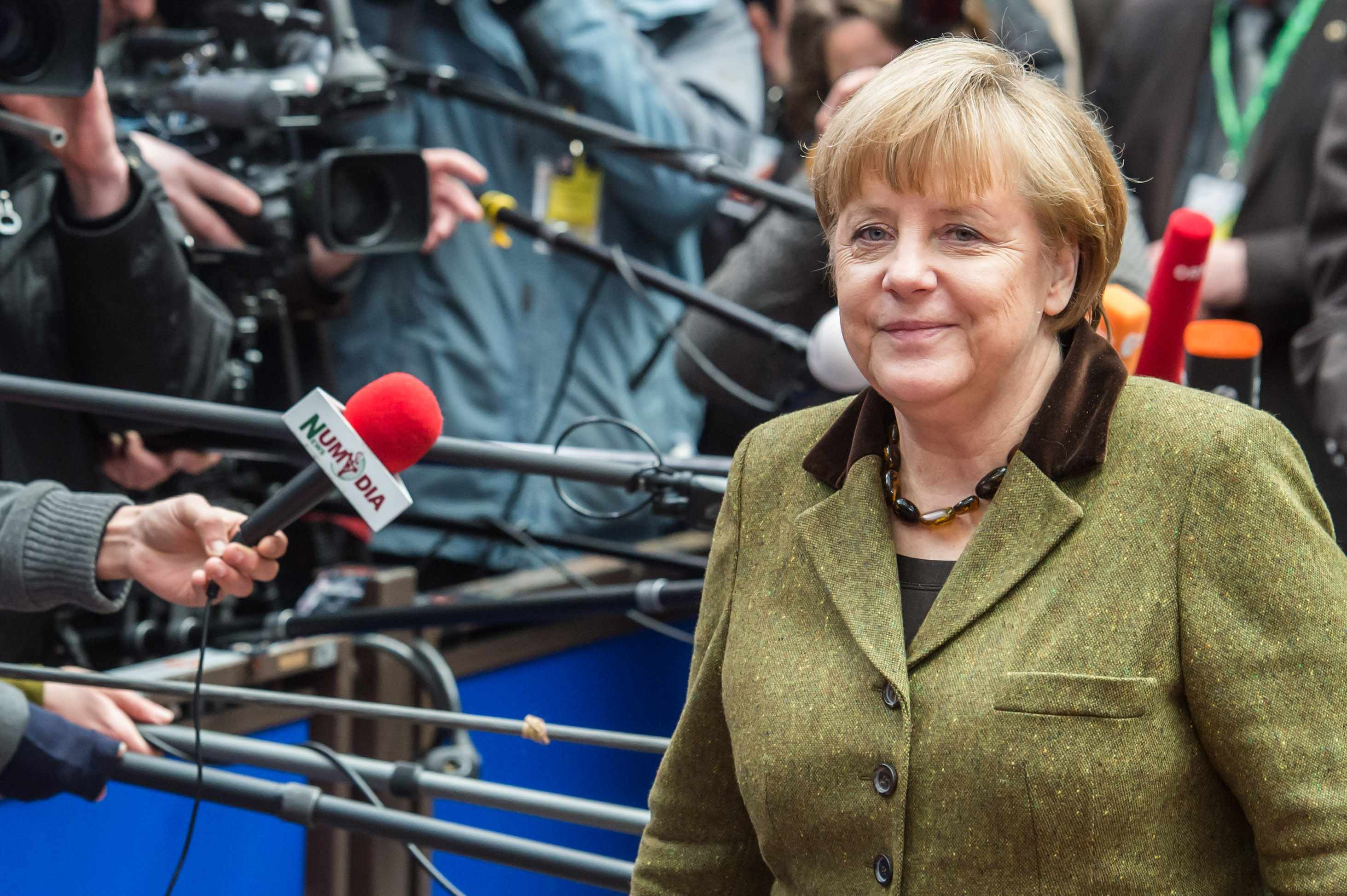 Chancellor Merkel is more used to attending EU Budget summits but will  Eurobike in August