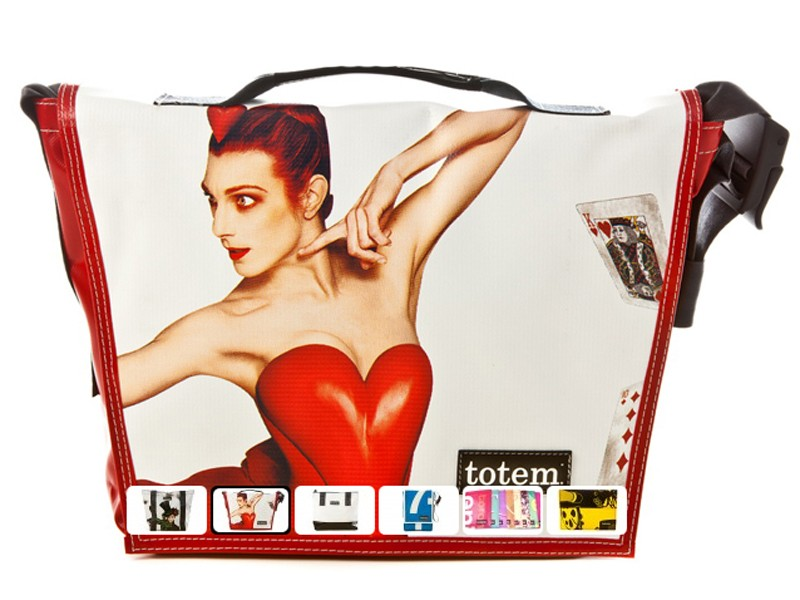 Totem Bags are perhaps the most fashion-forward of the upcycled bags