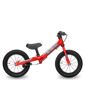 All Islabikes have a micro-adjust little hand brake - even this balance bike with pneumatic tires