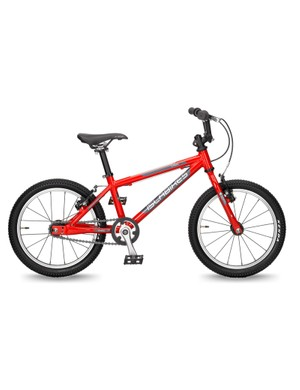 The CNOC 16 comes with a coaster brake (per US law) and a micro-adjust hand brake