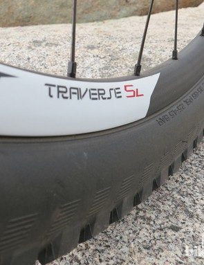 Light and wide Roval Traverse SL wheels play a big role in keeping this bike light