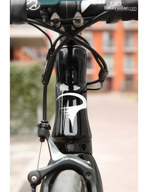Pinarello builds the Dogma K with a 1 1/8-to- 1/14