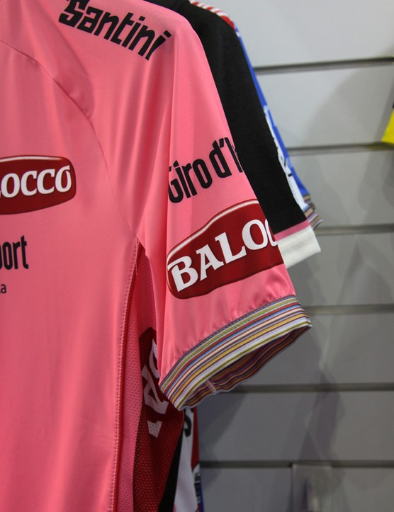 This year's Giro d'Italia maglia rosa was designed by Paul Smith