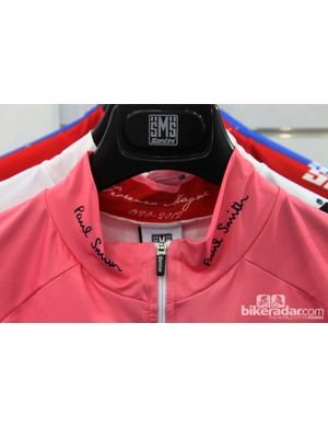 Paying homage to both past and present on Santini's official Giro d'Italia maglia rosa