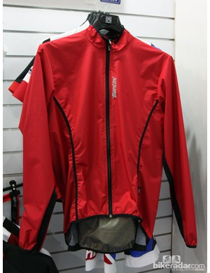 Santini's new Activent System jacket is designed to be a lightweight wind jacket with ample ventilation
