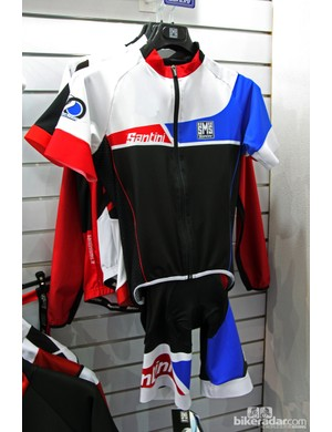 Santini's new Union kit was inspired by the British flag