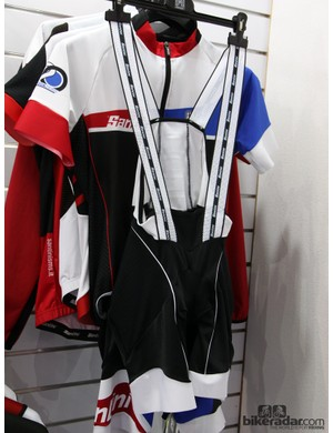 The MIG3 chamois is used only in Santini's top-end BCool bib shorts