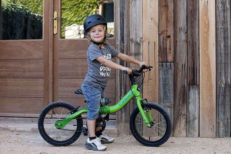 The Orbea Grow 2 - extends as a child grows up