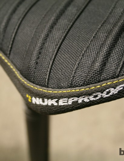Kevlar side protection should make this a durable little saddle