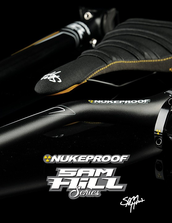 Sam Hill series signature components from Nukeproof