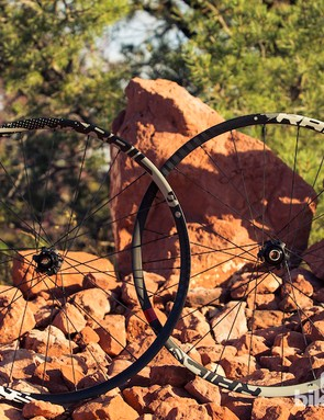 The Rail is a wider, burlier version of the Roam 50, and aimed at more aggressive riders