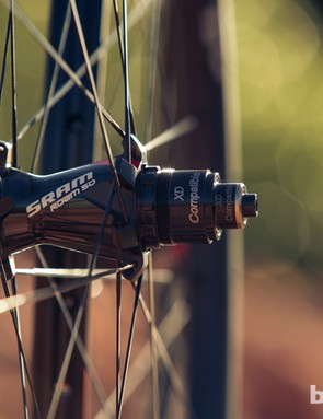 No surprise that the new wheelsets are compatible with SRAM's XD driver body