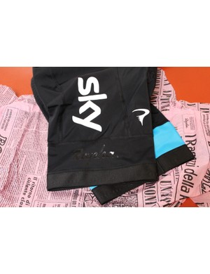 The pro Team Sky bib shorts