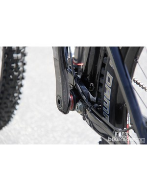 It appears Giant is sticking with press-fit BB92 bottom brackets on the new 650B models