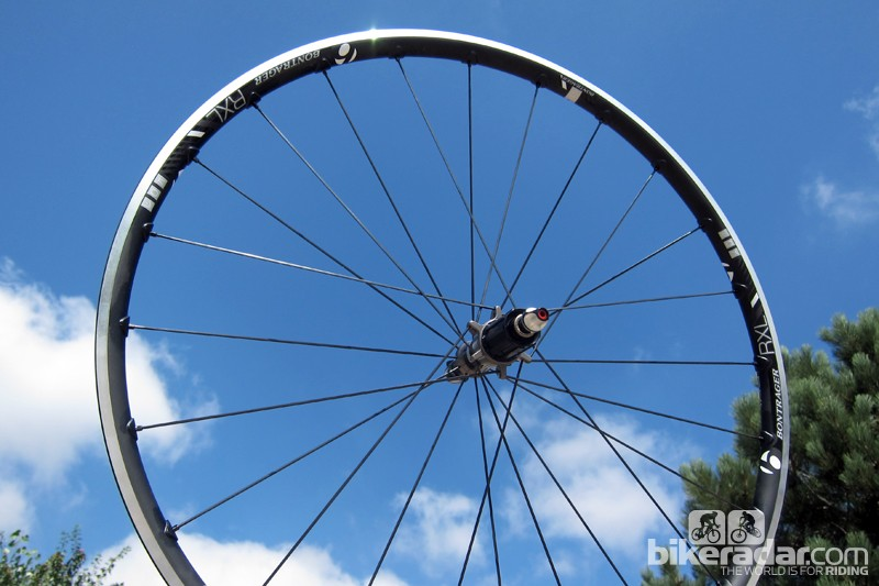 Bontrager's Race X Lite TLR aluminum clinchers may not be as sexy or aero as deep-section carbon wheels but they offer a fantastic ride, easy tubeless compatibility, and impressively light weight