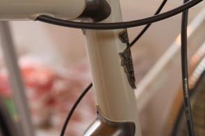 The winning bike displays incredible frame workmanship